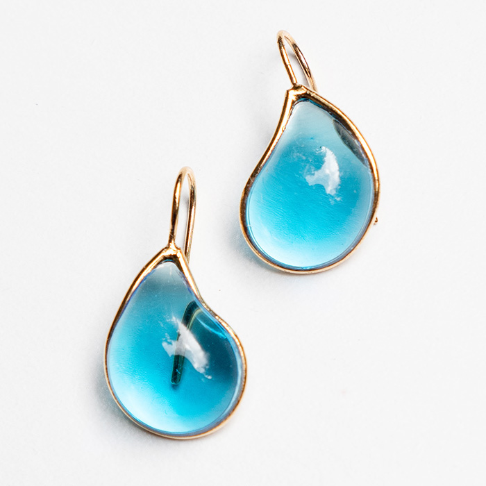 Loulou de la Falaise Teardrop Earrings III