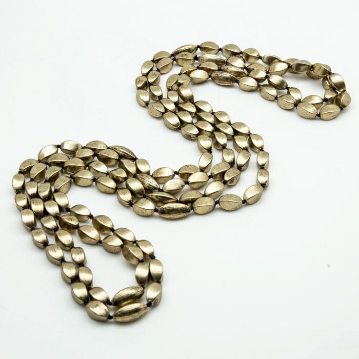 loulou de la falaise gold neck lace