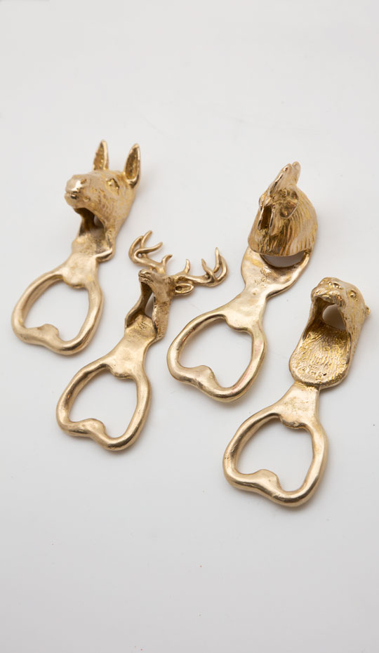 Animal Bottle Opener Set 4