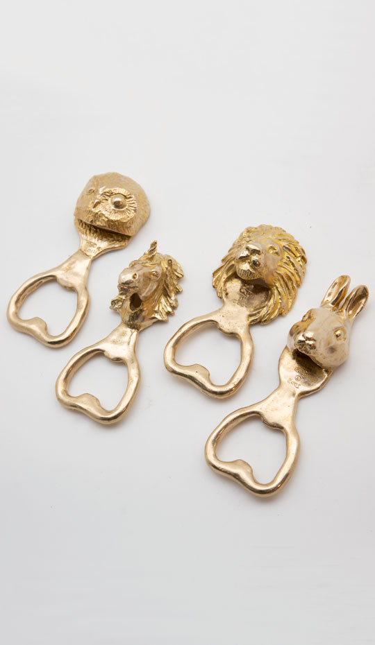 Animal Bottle Opener Set 5