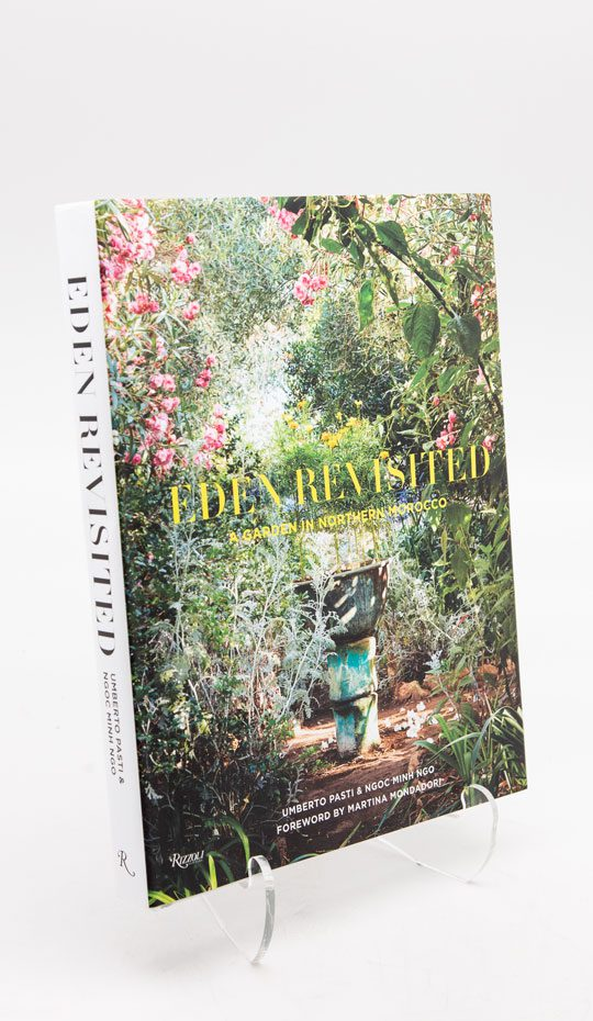 book about the rohuna garden in the north of Morocco