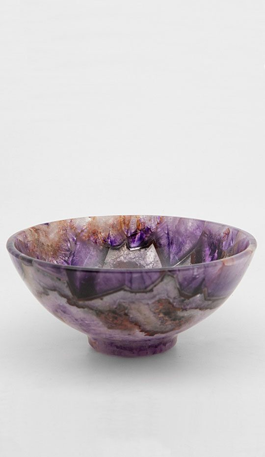 Dark Amethyst Bowl, 6″