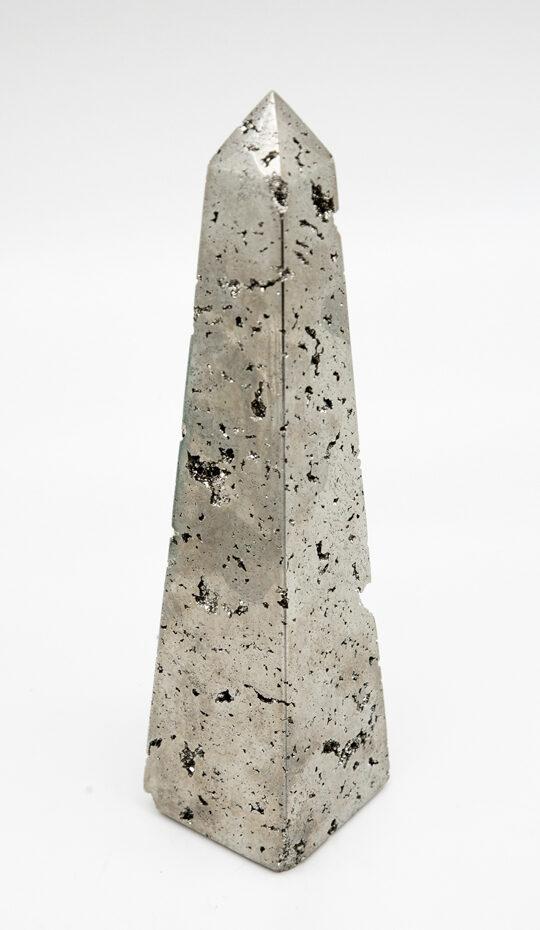 Pyrite Obelisk 10.5″