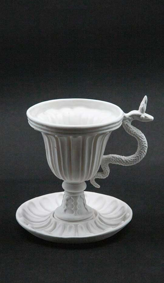 white serpent chalice